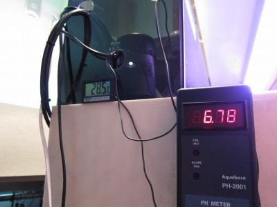 温度計&Phモニター