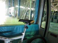 自転車同乗で少し妙な気分